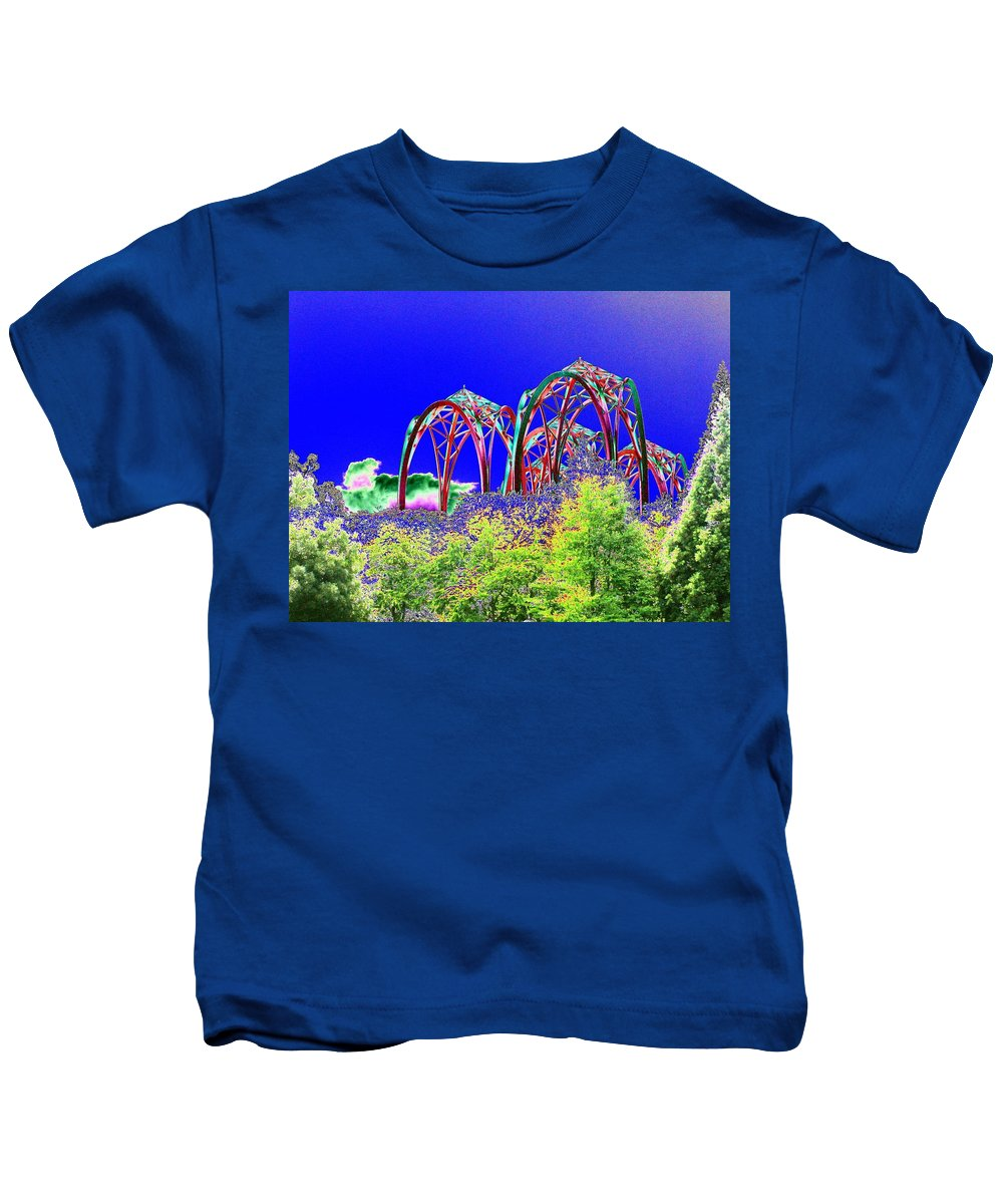 Seattle Kids T-Shirt featuring the photograph Arches 6 by Tim Allen
