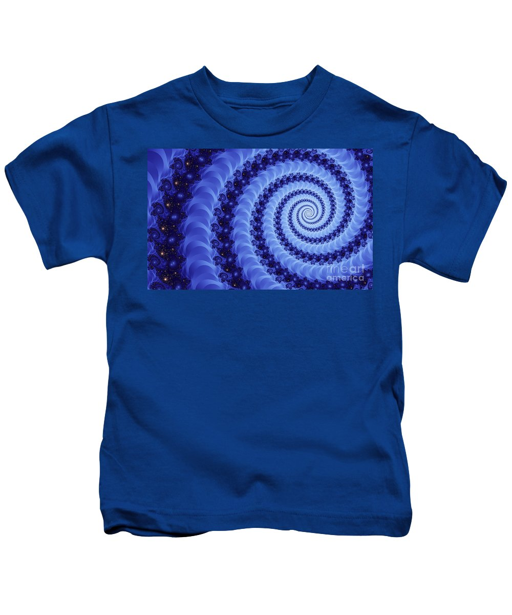 Clay Kids T-Shirt featuring the digital art Astral Vortex by Clayton Bruster