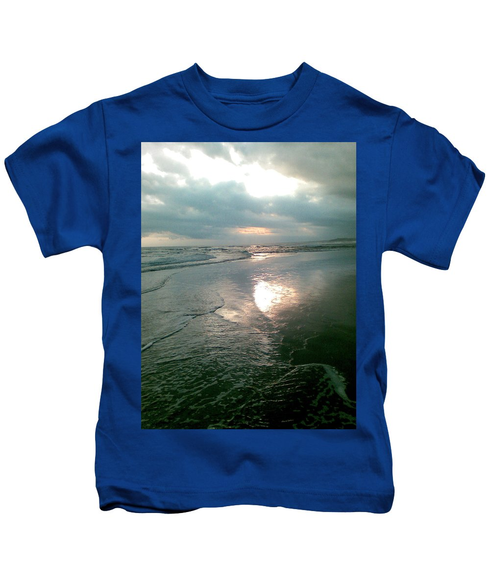 Bali Kids T-Shirt featuring the photograph Bali Dusk by Mark Sellers