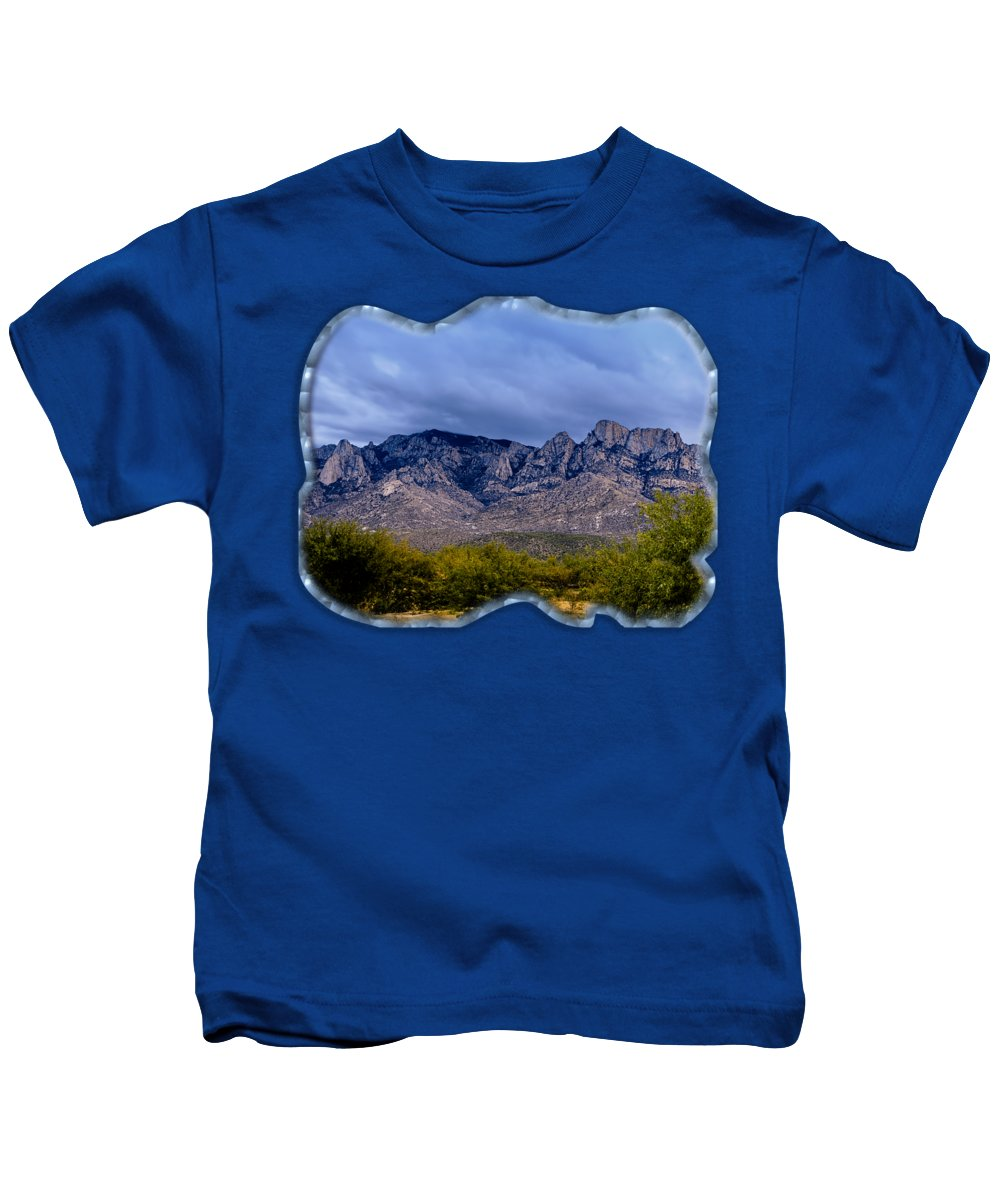Acrylic Prints Kids T-Shirt featuring the photograph Catalina Mountains P1 by Mark Myhaver