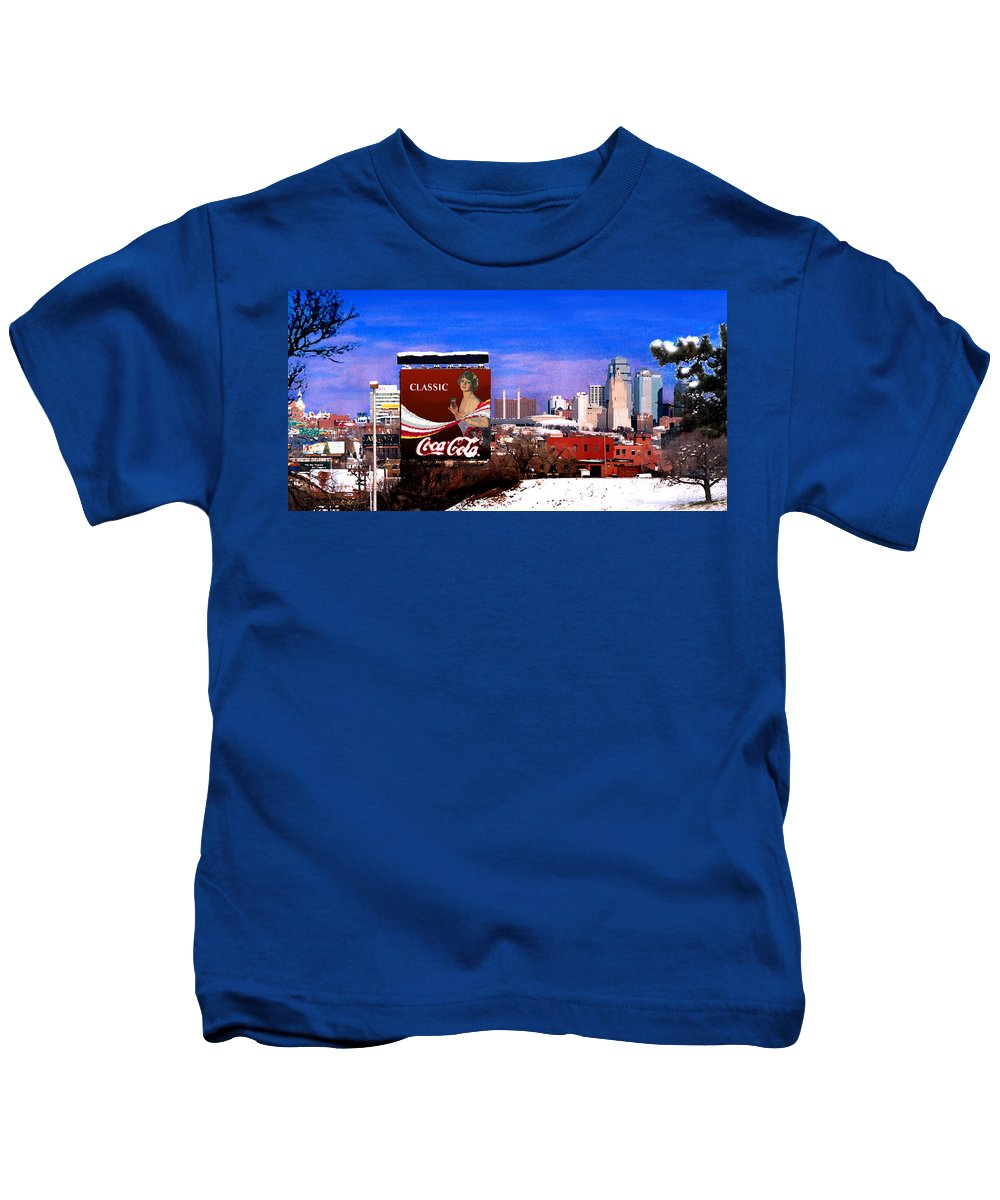 Landscape Kids T-Shirt featuring the photograph Classic by Steve Karol
