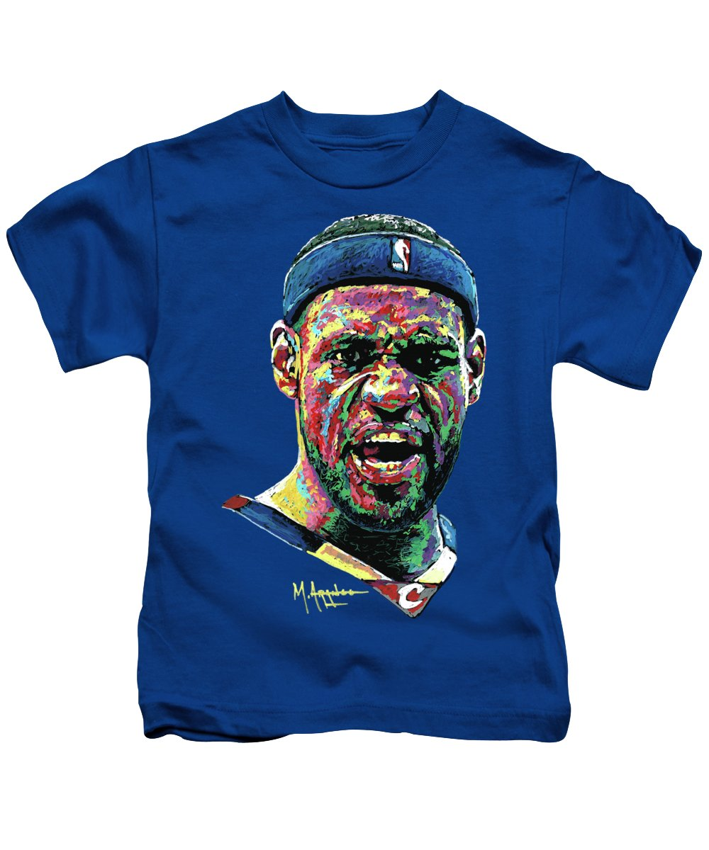 Akron Ohio Paintings Kids T-Shirts