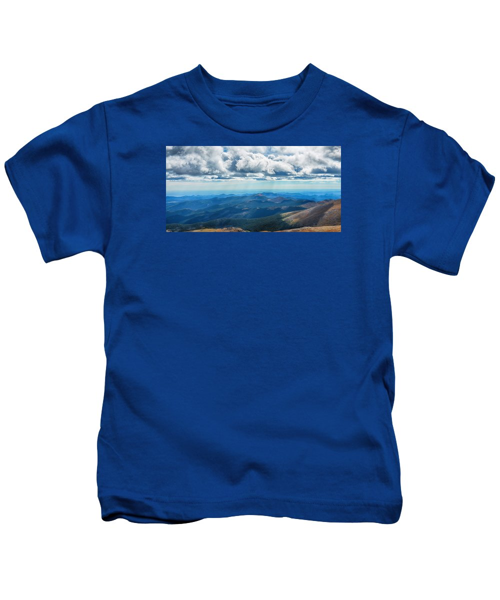 Mount Evans Kids T-Shirt featuring the photograph Colorado Majesty by Angelina Vick