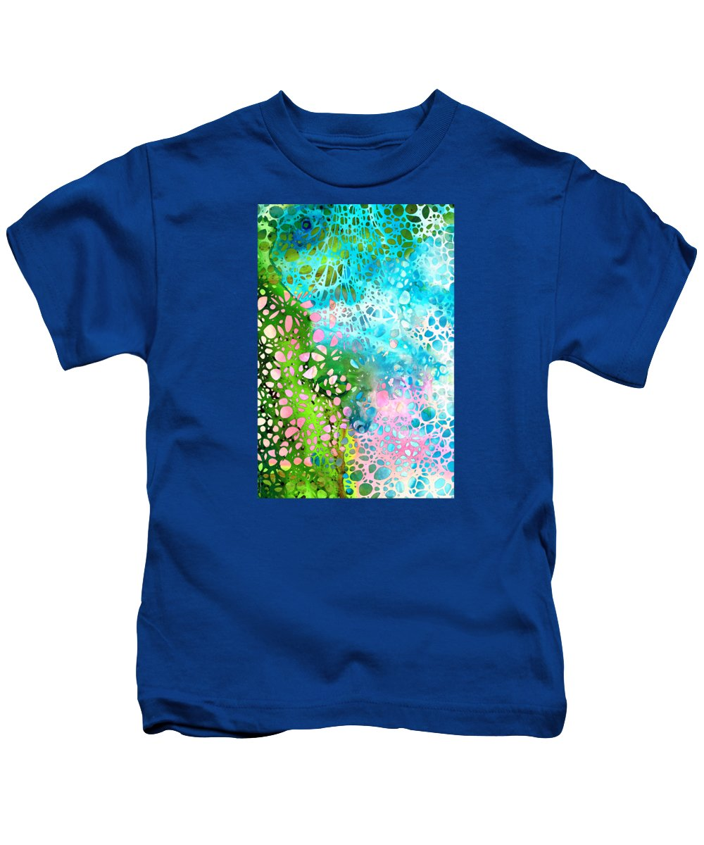 Abstract Landscape Paintings Kids T-Shirts