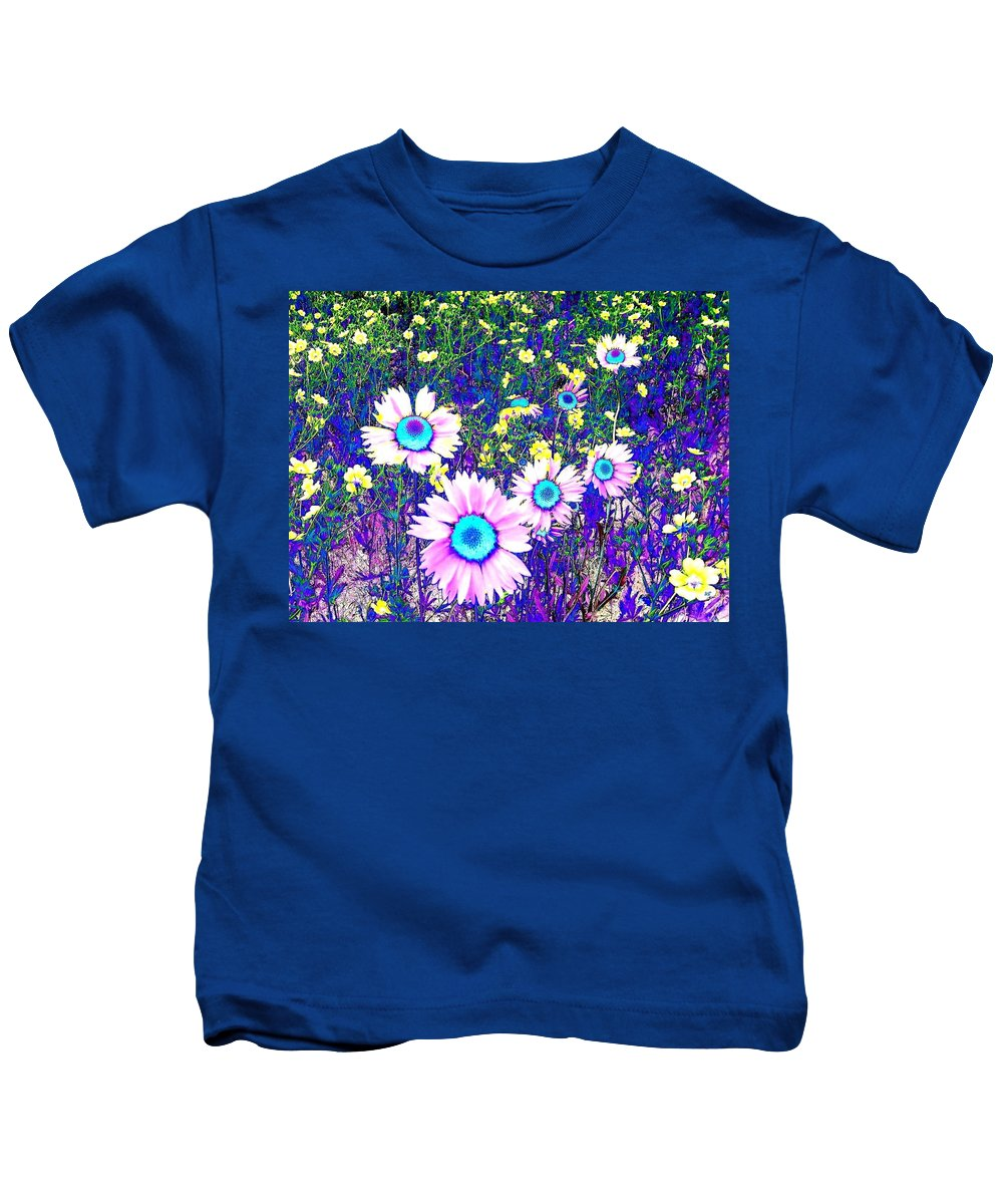 Photo Design Kids T-Shirt featuring the digital art Colormax 2 by Will Borden