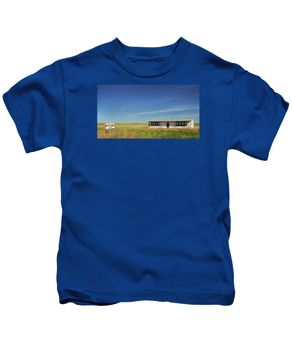 Lawyer Kids T-Shirt featuring the photograph Country Lawyer by Grant Groberg