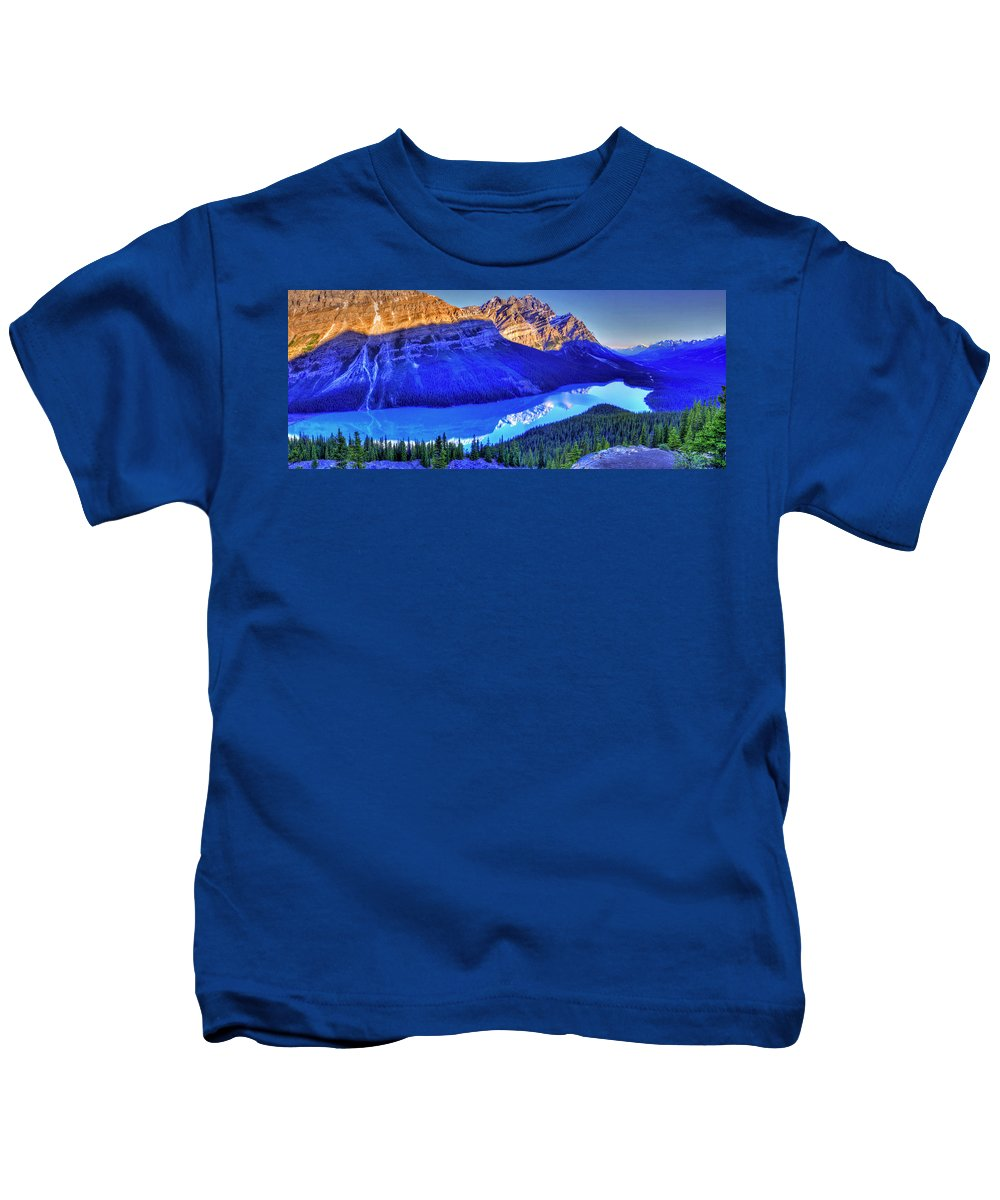 Lake Kids T-Shirt featuring the photograph Crystal Lake by Scott Mahon