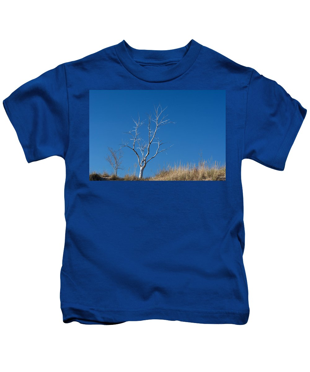 Tree Kids T-Shirt featuring the photograph Dead Tree by Linda Kerkau