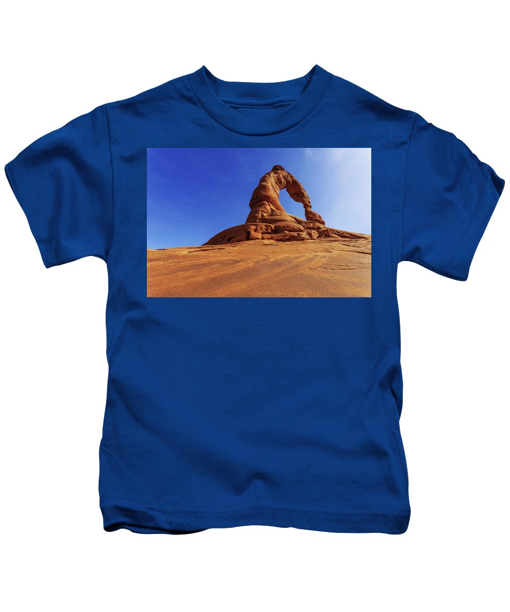 Nature Kids T-Shirt featuring the photograph Delicate Perspective by Chad Dutson
