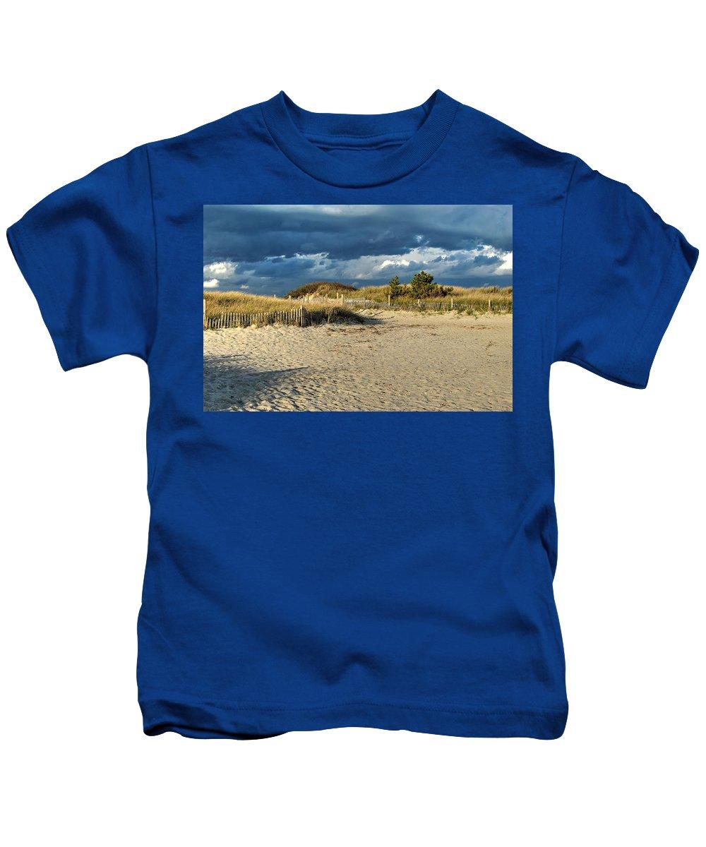 Dunes Kids T-Shirt featuring the photograph Dunes by Scott Coleman