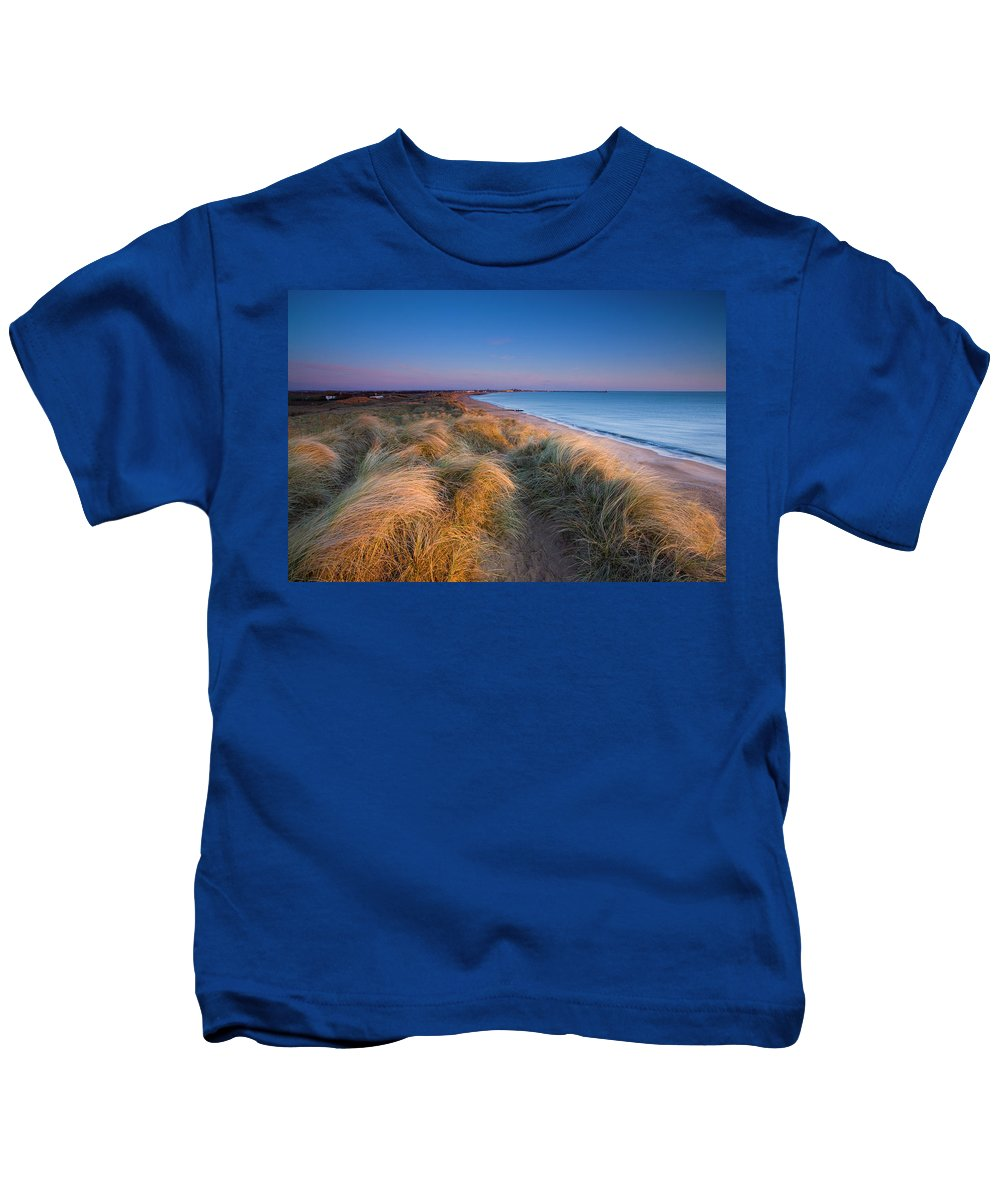 2009 Kids T-Shirt featuring the photograph England, Northumberland, Blyth by Jason Friend