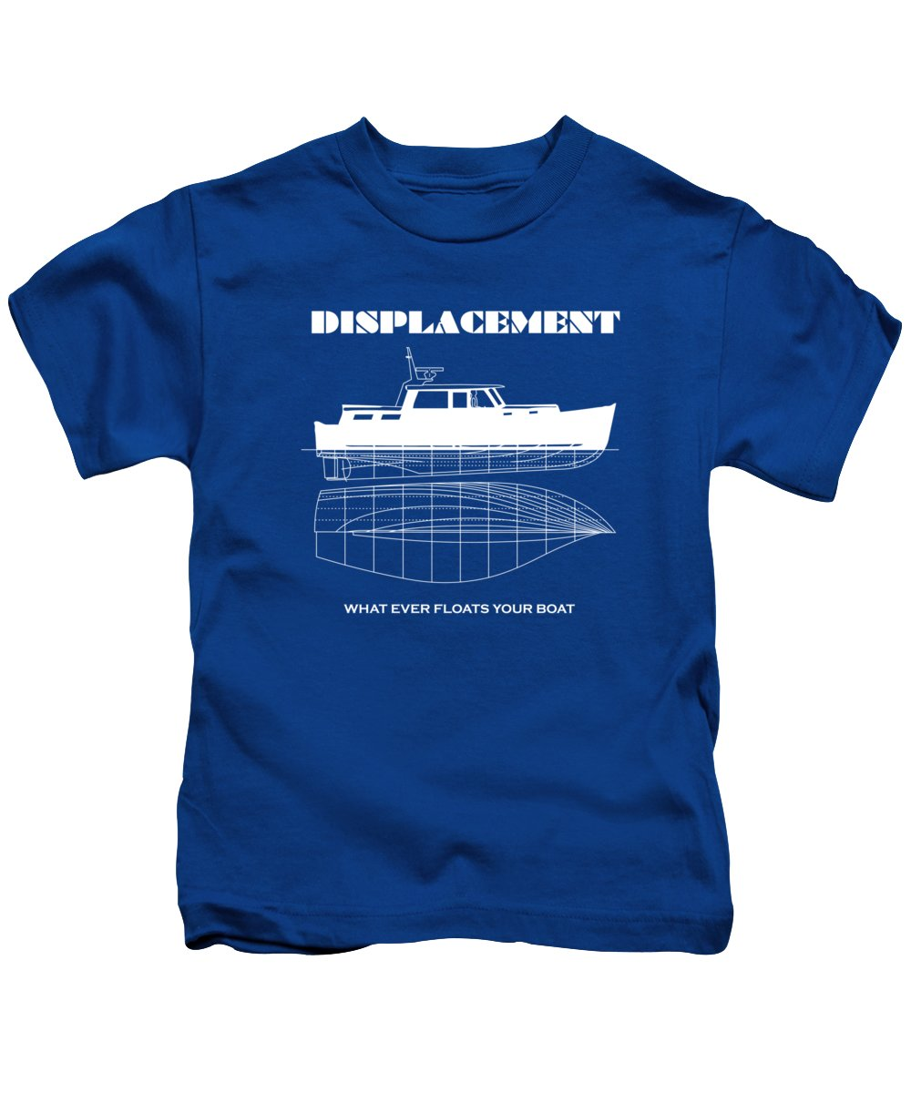 Funny Designs Puns Displacement Kids T-Shirt