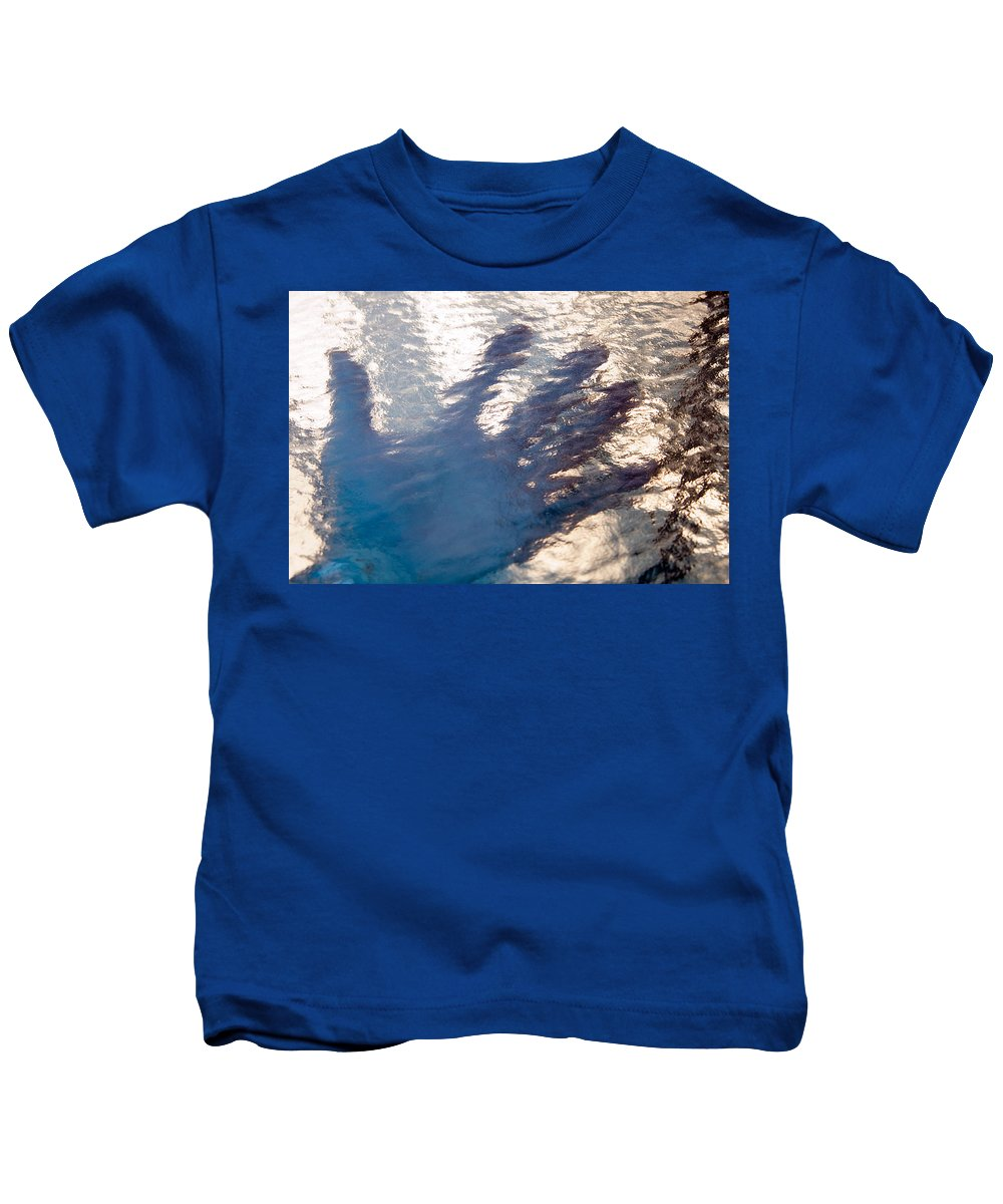 Clay Kids T-Shirt featuring the photograph Hand Out by Clayton Bruster