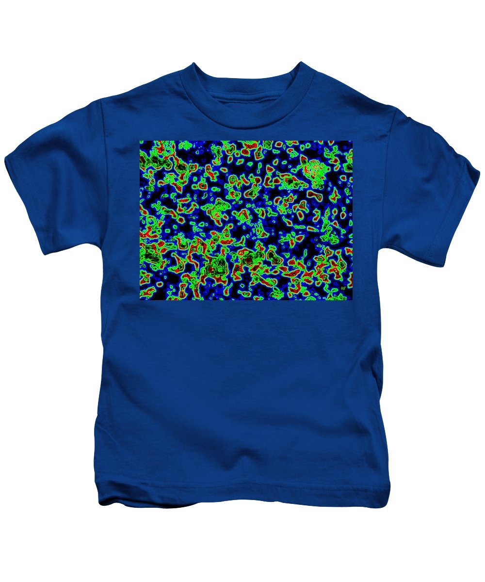 Abstract Kids T-Shirt featuring the digital art Harmony 14 by Will Borden