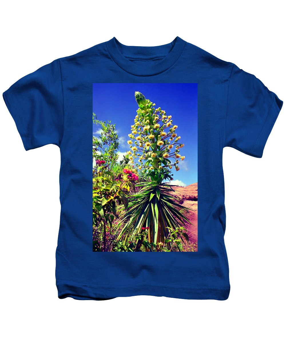 Hawaii Kids T-Shirt featuring the photograph Hula Girl by Kevin Smith