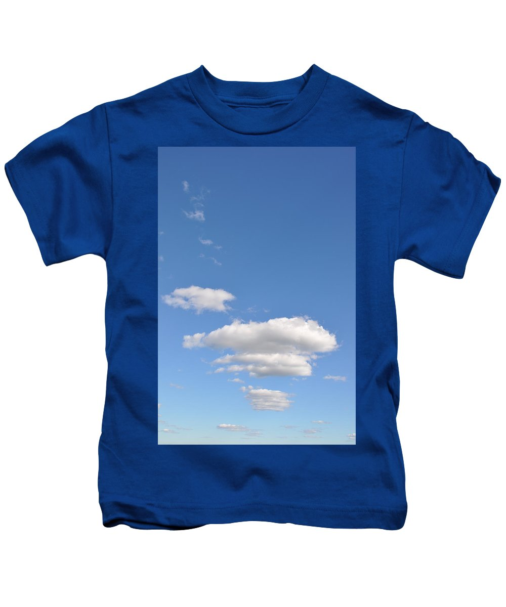 Cloud Kids T-Shirt featuring the photograph Huson River Clouds 3 by Rich Bodane