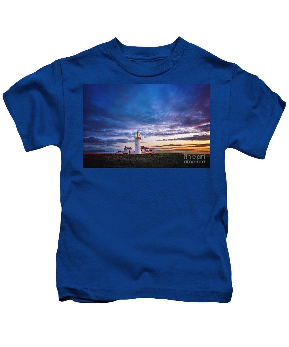 Kremsdorf Kids T-Shirt featuring the photograph I Will Follow You Into The Dark by Evelina Kremsdorf
