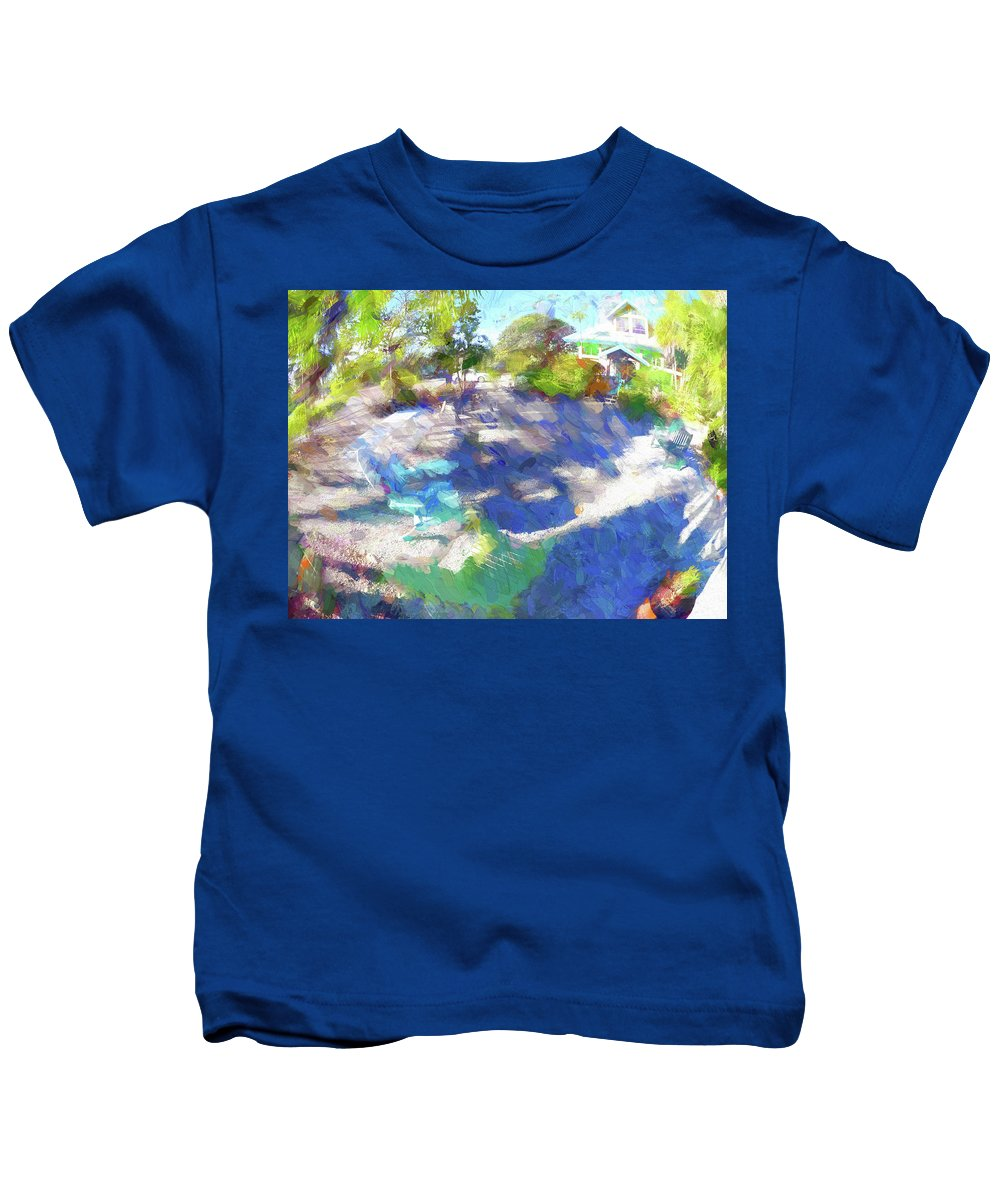 Florida Kids T-Shirt featuring the photograph Impressions Of Florida 2017 V by Tina Baxter