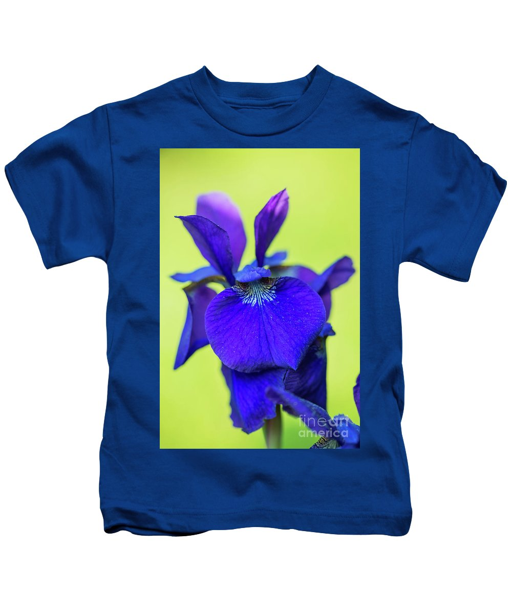 Nature Kids T-Shirt featuring the photograph Iris by Tom Rostron