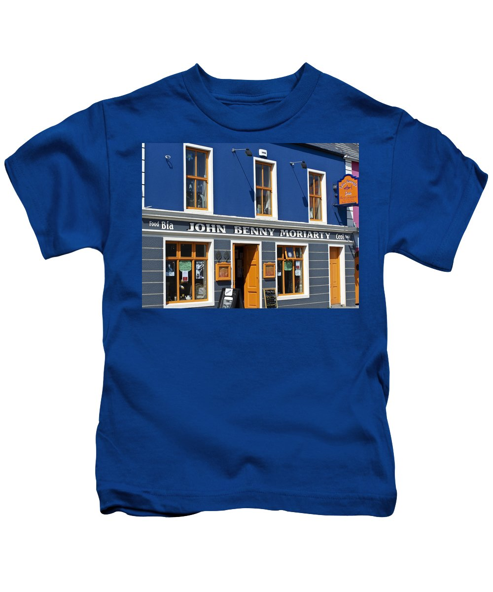 Irish Kids T-Shirt featuring the photograph John Benny by Teresa Mucha