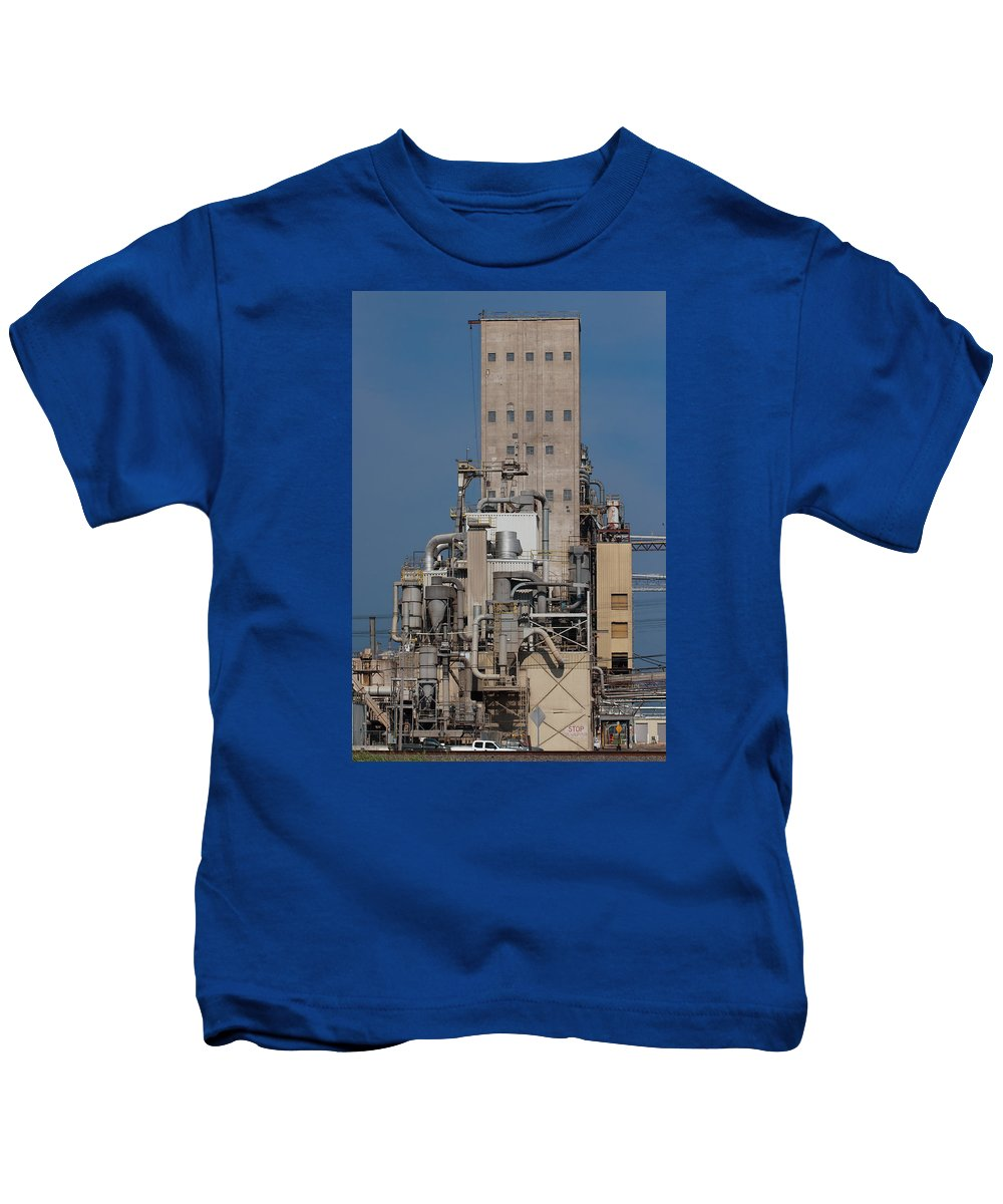 Pipe Kids T-Shirt featuring the photograph Just Lookit All Them Pipes by Grant Groberg