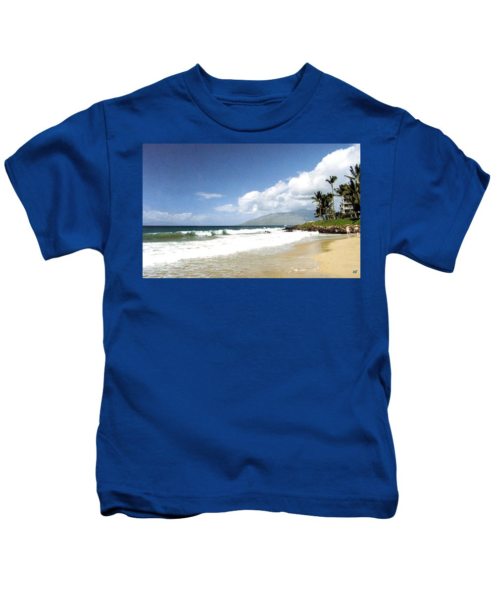 1986 Kids T-Shirt featuring the photograph Kihei by Will Borden
