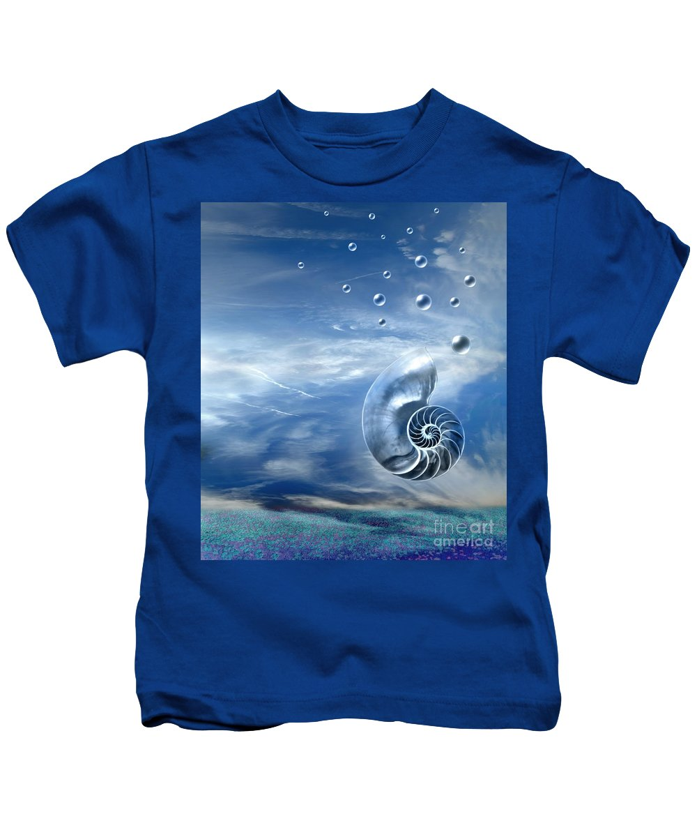 Surreal Kids T-Shirt featuring the photograph Life by Jacky Gerritsen