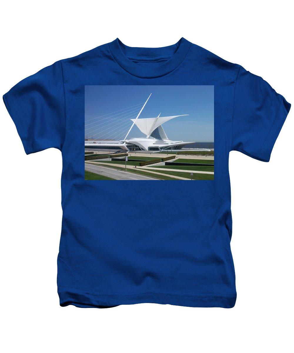 Mam Kids T-Shirt featuring the photograph Mam Caltrava by Anita Burgermeister