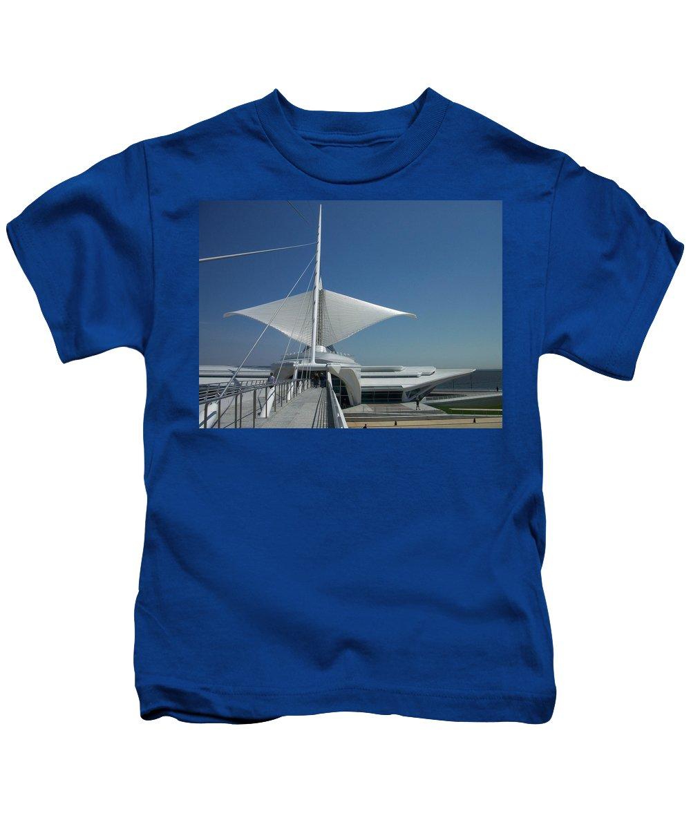 Mam Kids T-Shirt featuring the photograph Mam Series 3 by Anita Burgermeister