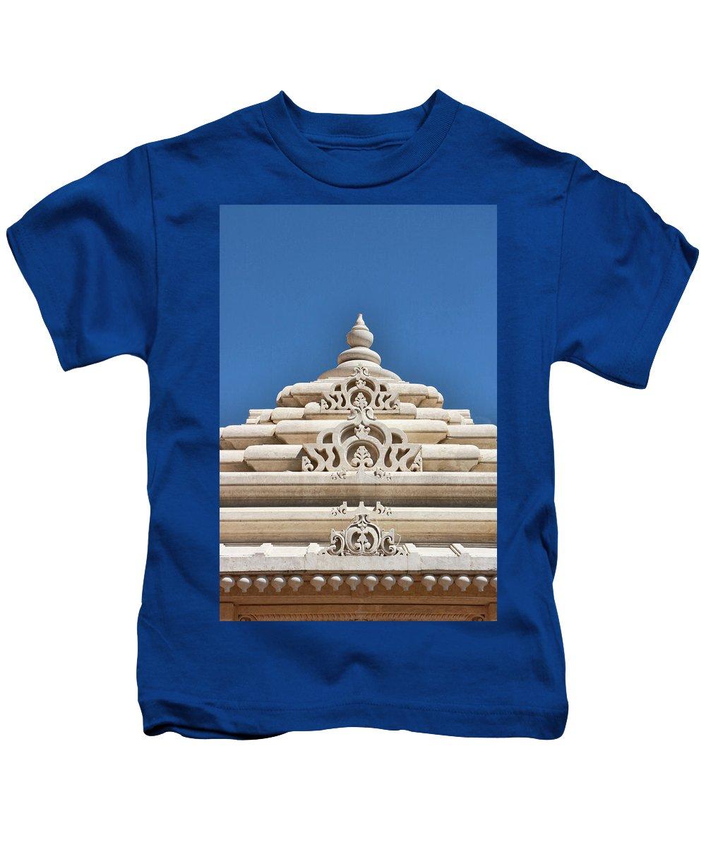 Religion Kids T-Shirt featuring the photograph Mandir # 3 by Allen Beatty