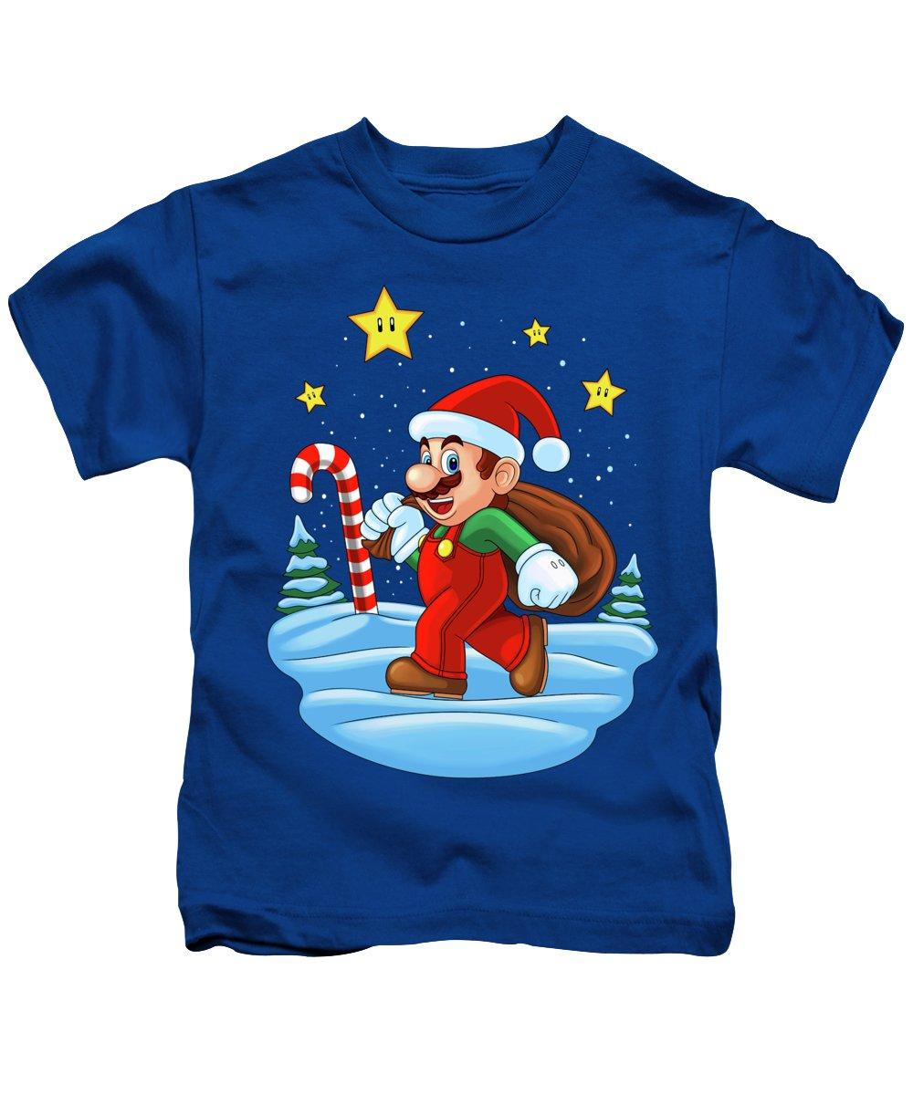 aa250da930deae Super Mario World Kids T-Shirts