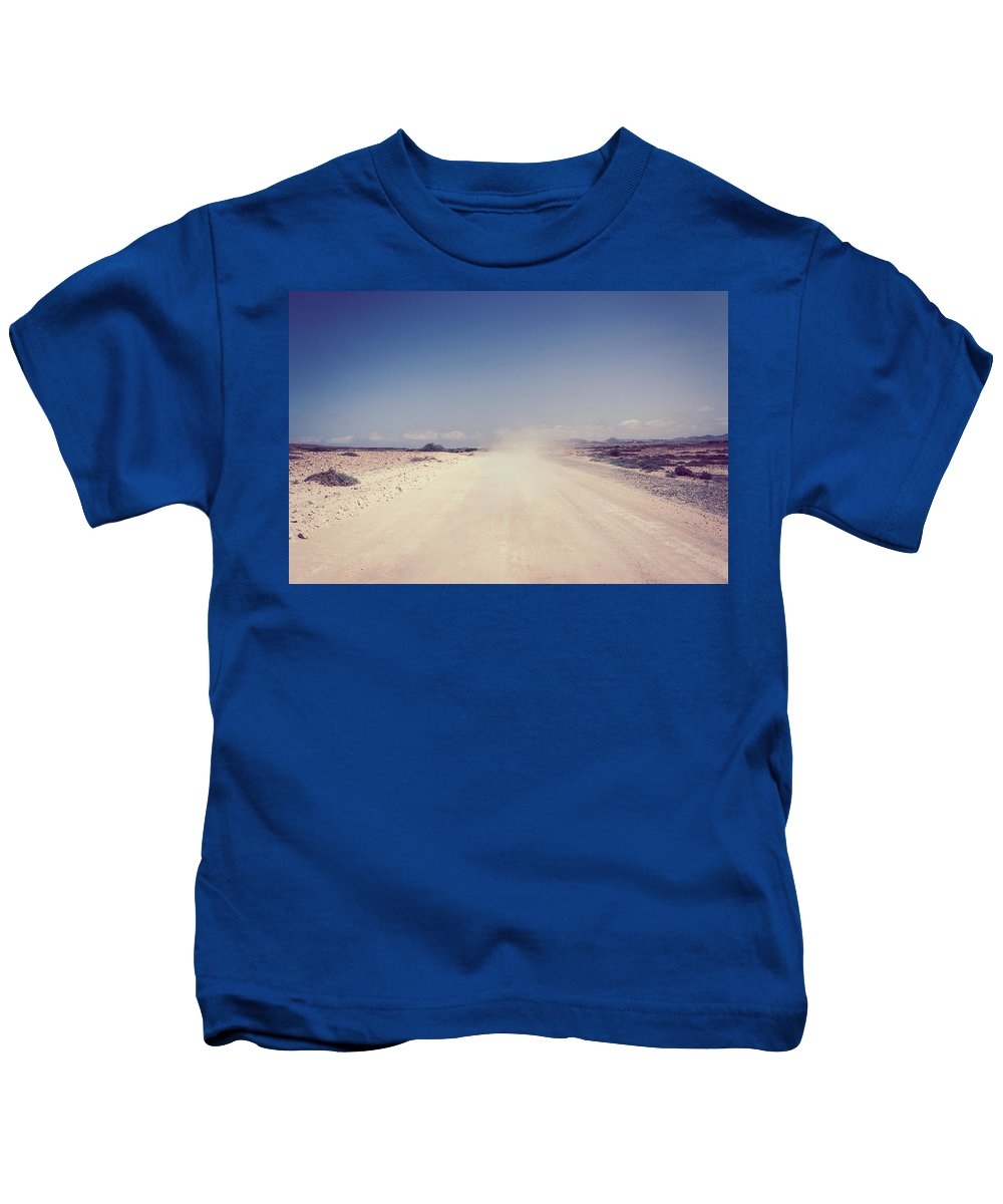 Moon Kids T-Shirt featuring the photograph Moonscape by Wonderland Photography