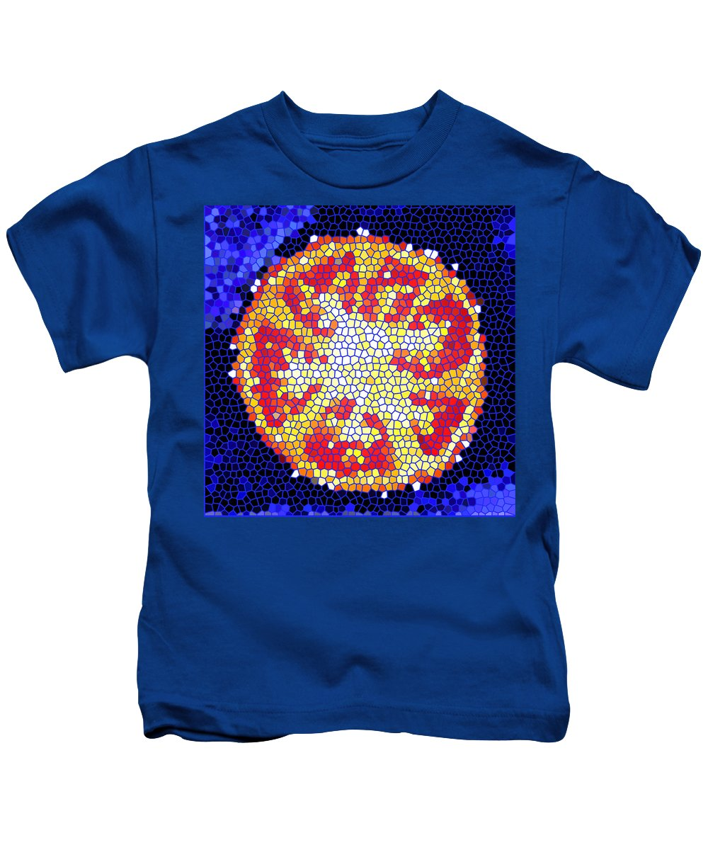 Tomato Kids T-Shirt featuring the photograph Mosaic Tomato by Nancy Mueller