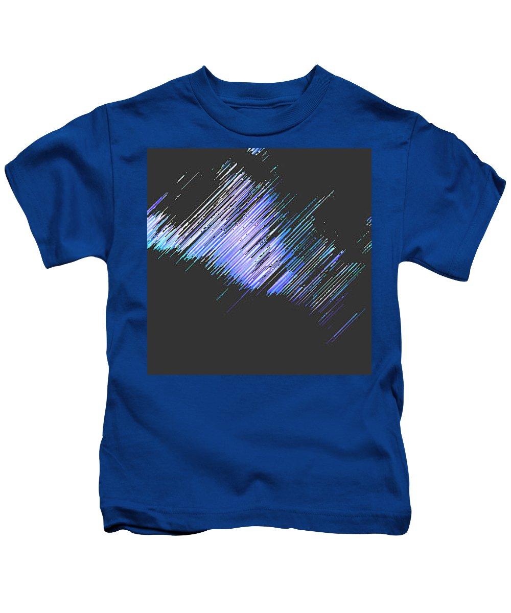 Moveonart! Digital Gallery Kids T-Shirt featuring the digital art Moveonart Follow Your Dreams Tonite by Jacob Kanduch