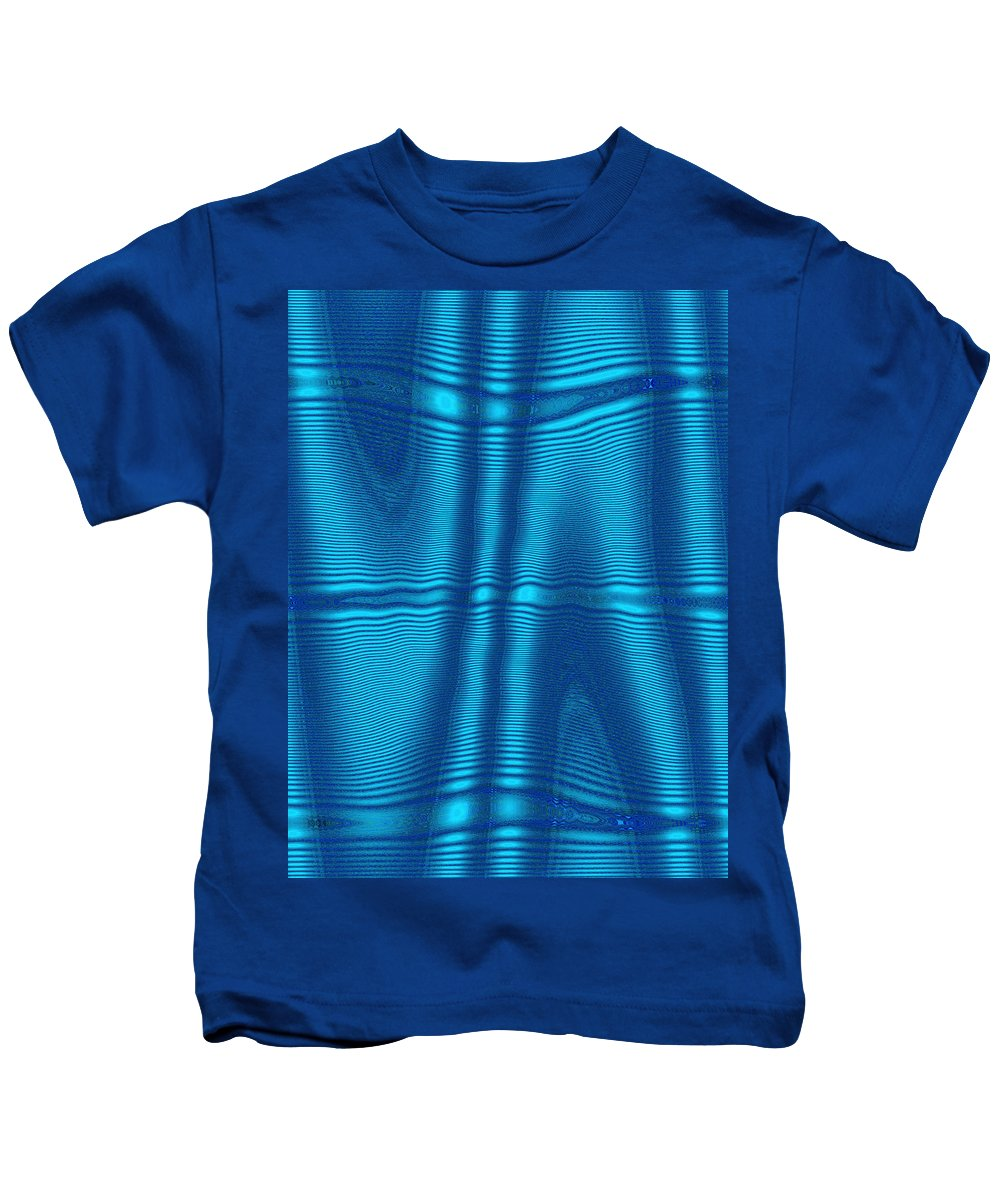 Moveonart! Digital Gallery Lower Nob Hill San Francisco California Jacob Kanduch Kids T-Shirt featuring the digital art Moveonart Future Texture Soul 1 by Jacob Kanduch