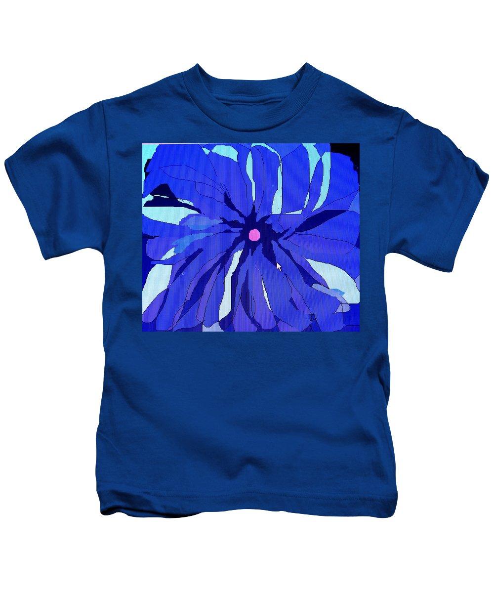 Flower Kids T-Shirt featuring the digital art My Fantastic Flower by Ian MacDonald