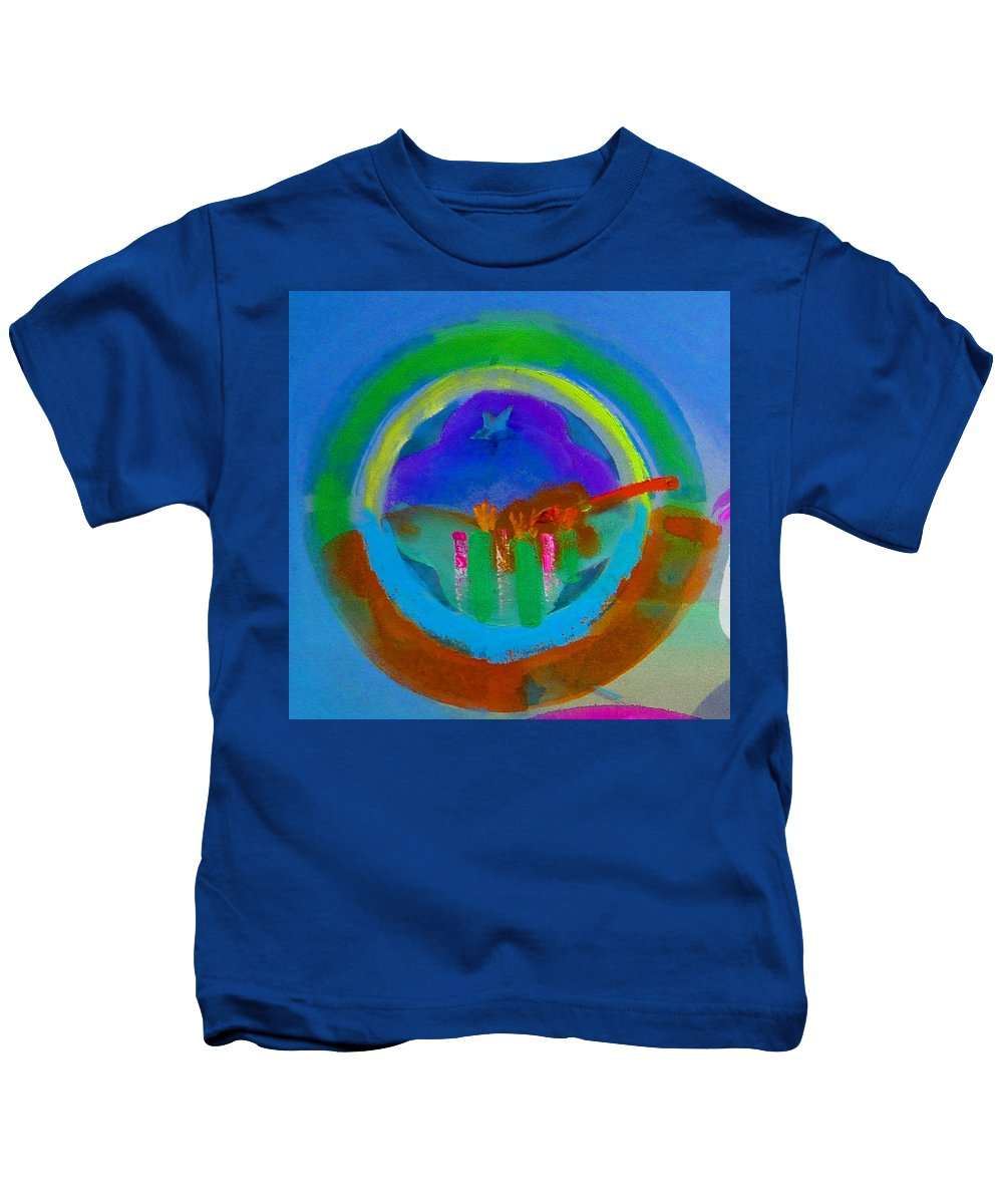 Love Kids T-Shirt featuring the painting New World Spring by Charles Stuart
