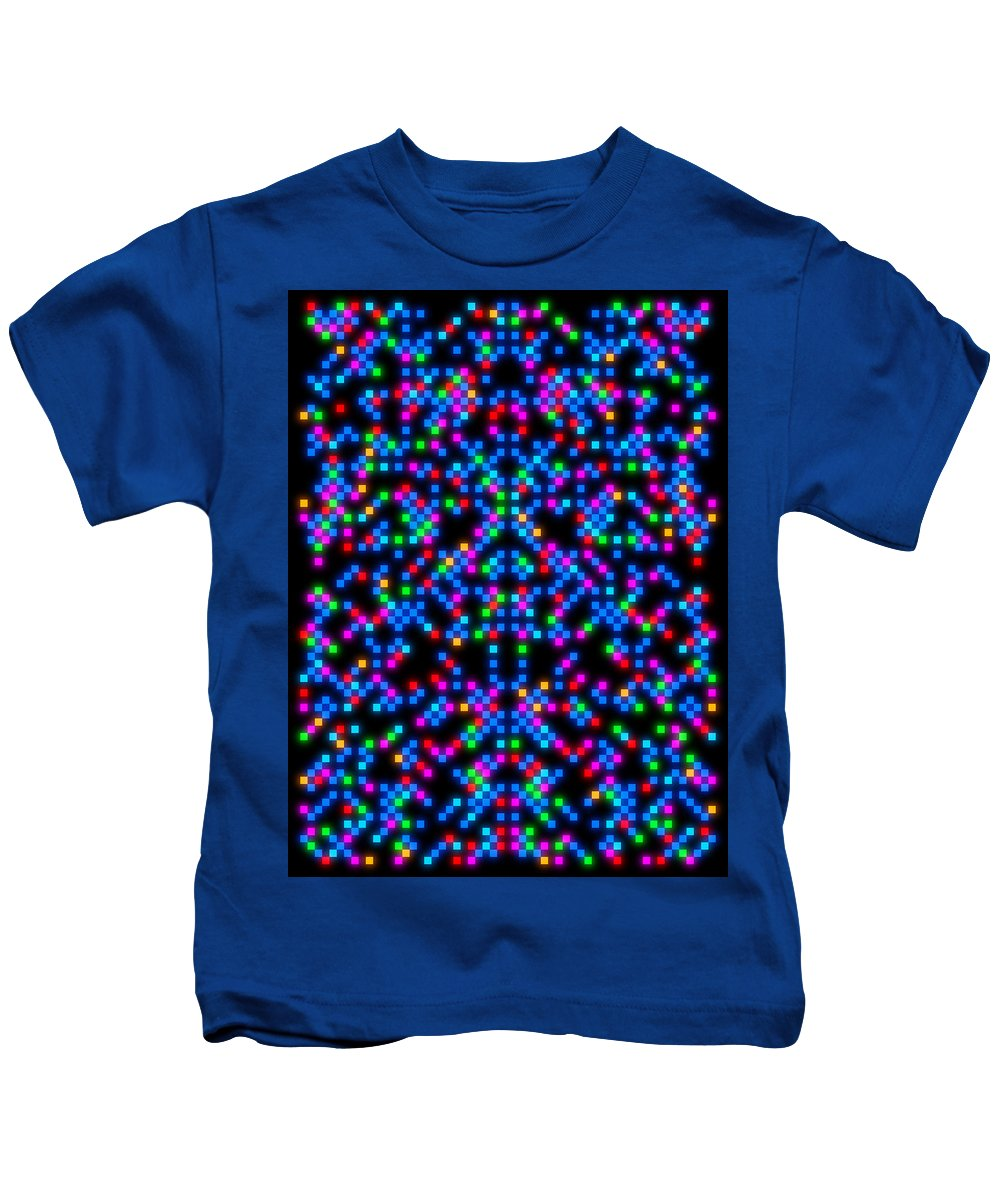 Deep Kids T-Shirt featuring the digital art Oa-1971 by Standa1one