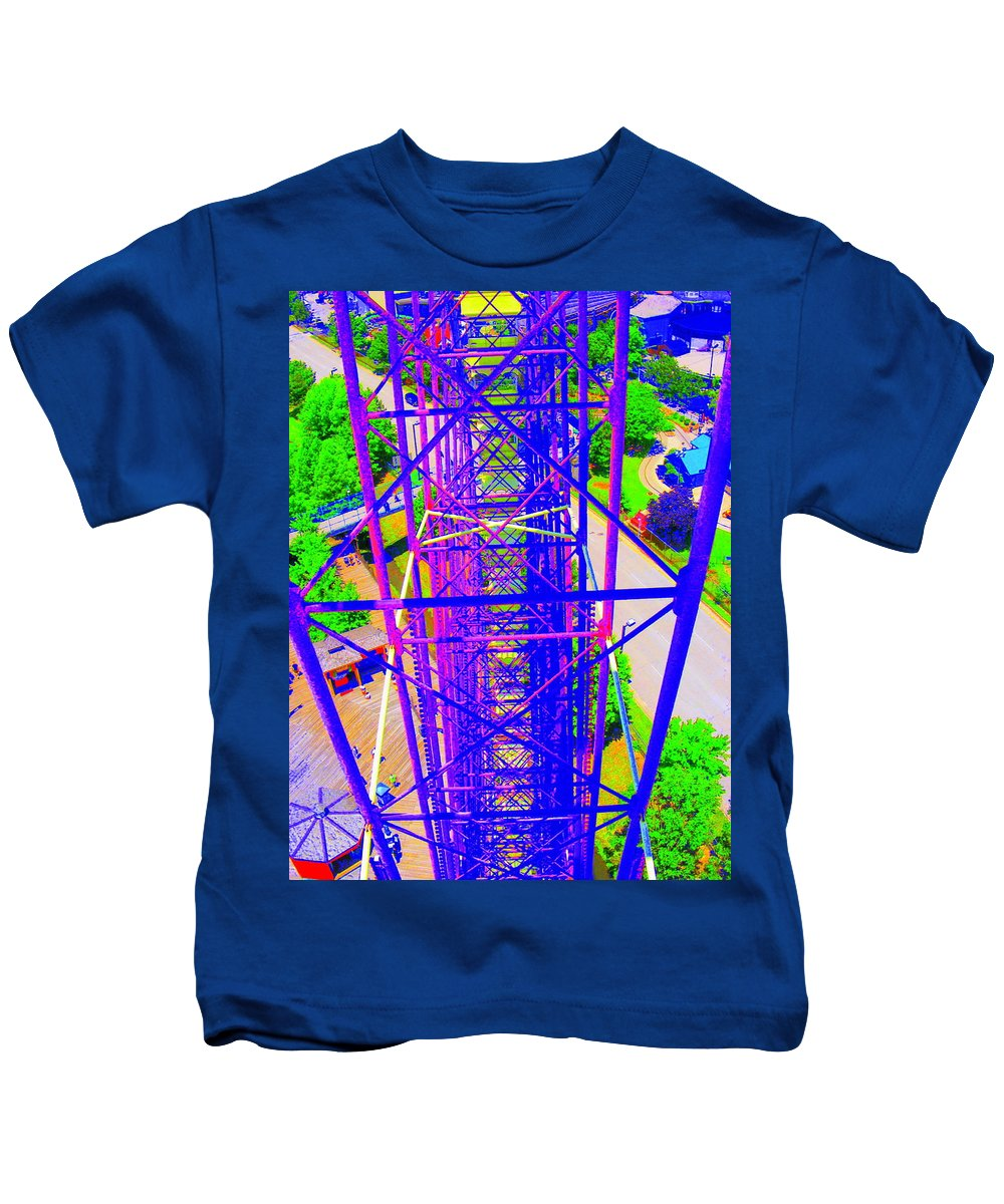 Still Life Kids T-Shirt featuring the photograph On Top Of The World by Ed Smith
