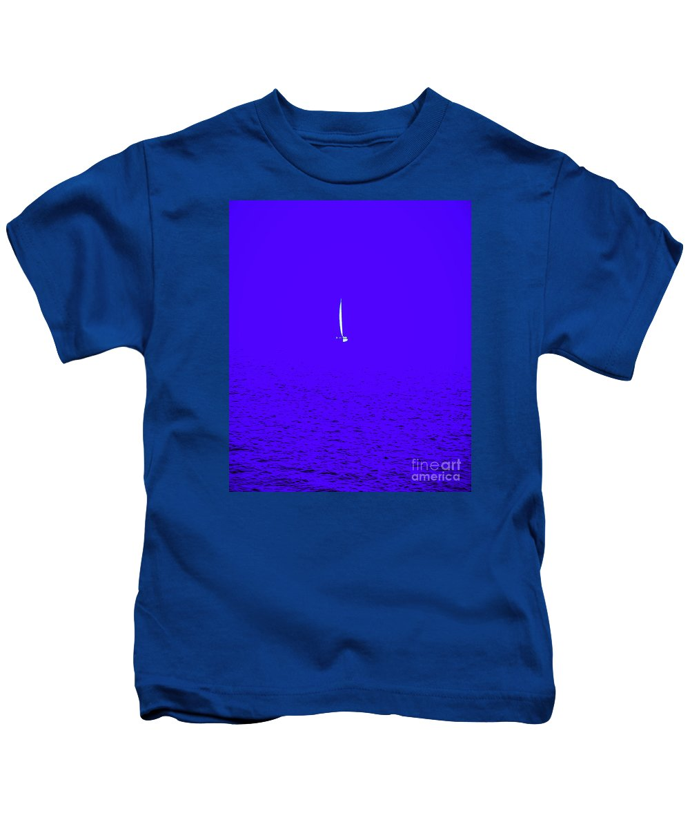 Out Of The Blue Kids T-Shirt featuring the photograph Out Of The Blue by Jim Collier