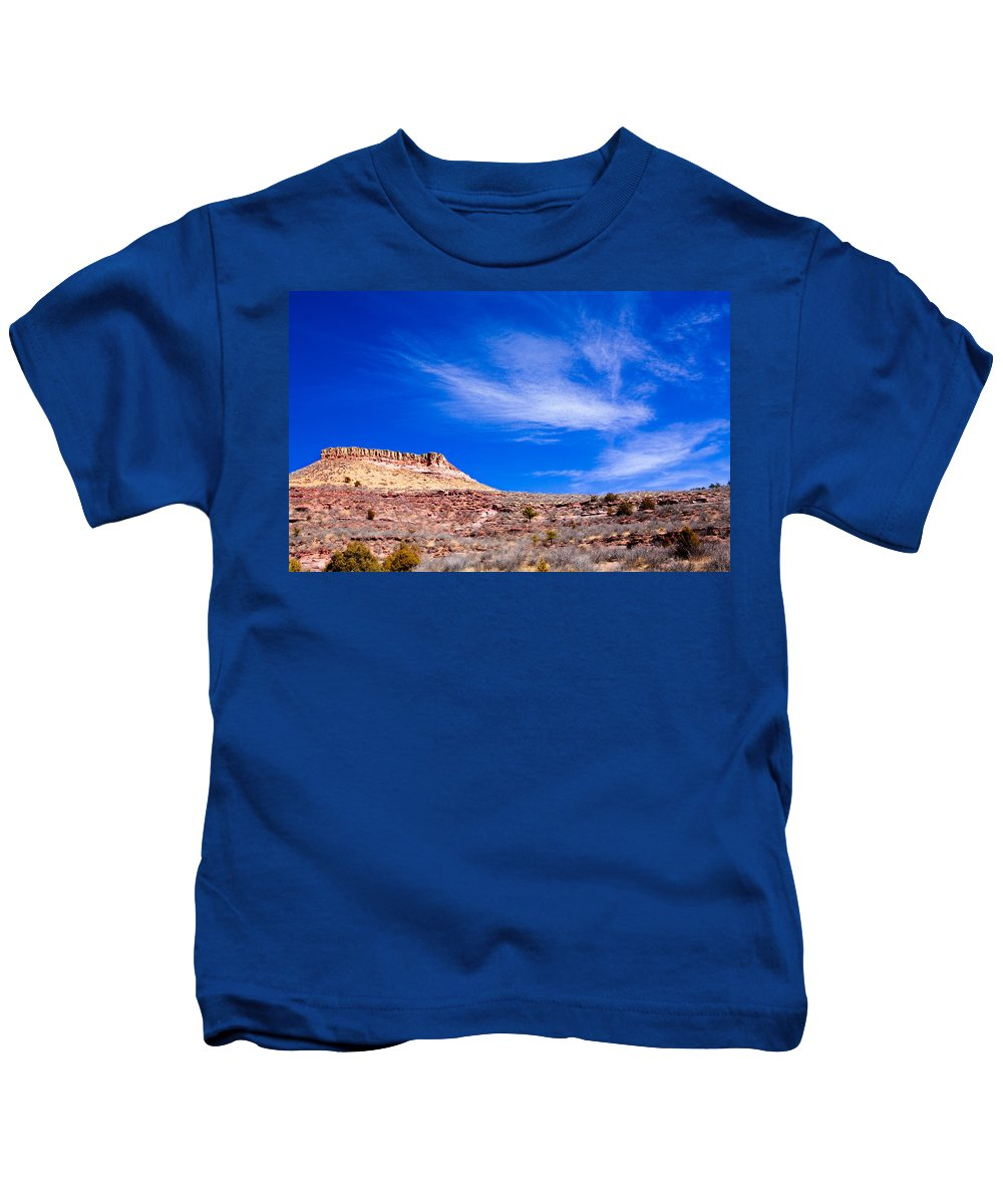 Red Kids T-Shirt featuring the photograph Outside Lyons Colorado by Marilyn Hunt