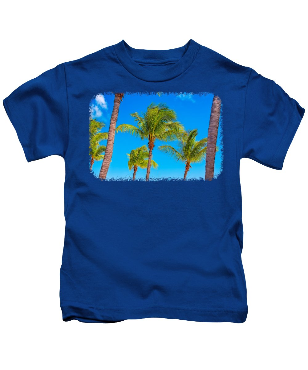 Art Kids T-Shirt featuring the photograph Paradise by John M Bailey