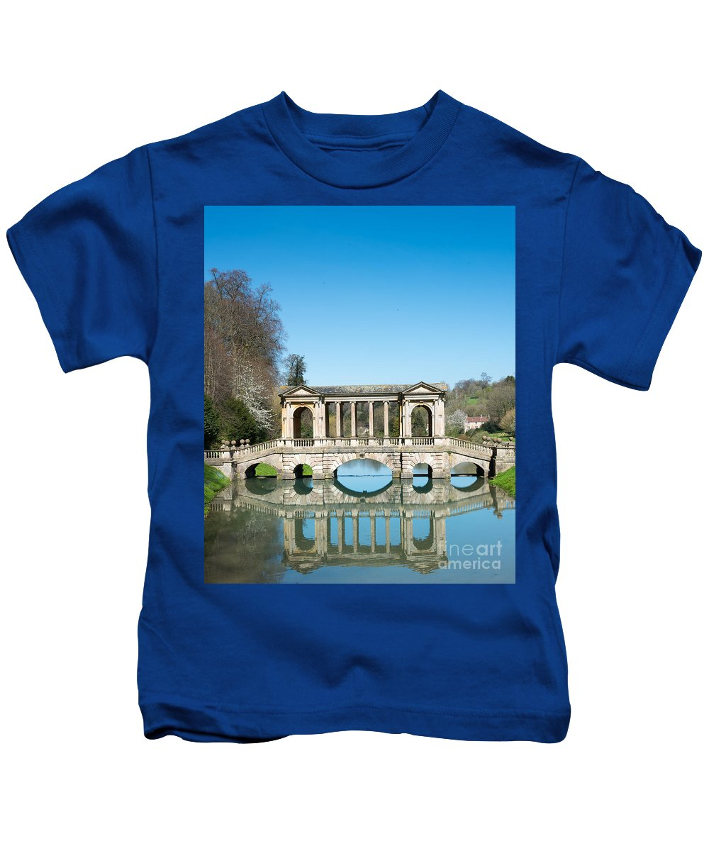 Prior Park Kids T-Shirt featuring the photograph Prior Park, Bath by Colin Rayner