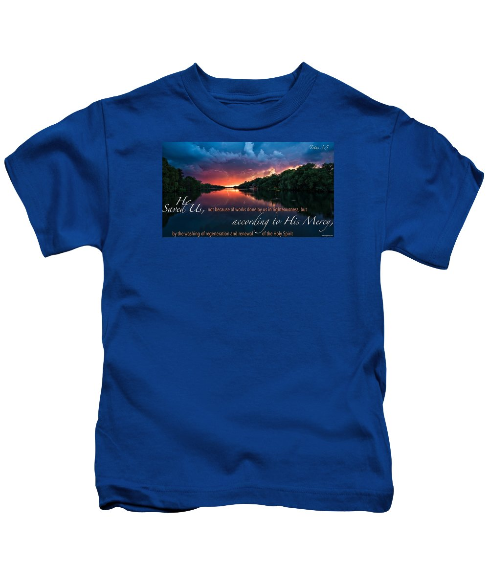 Kids T-Shirt featuring the photograph Salvation2 by David Norman