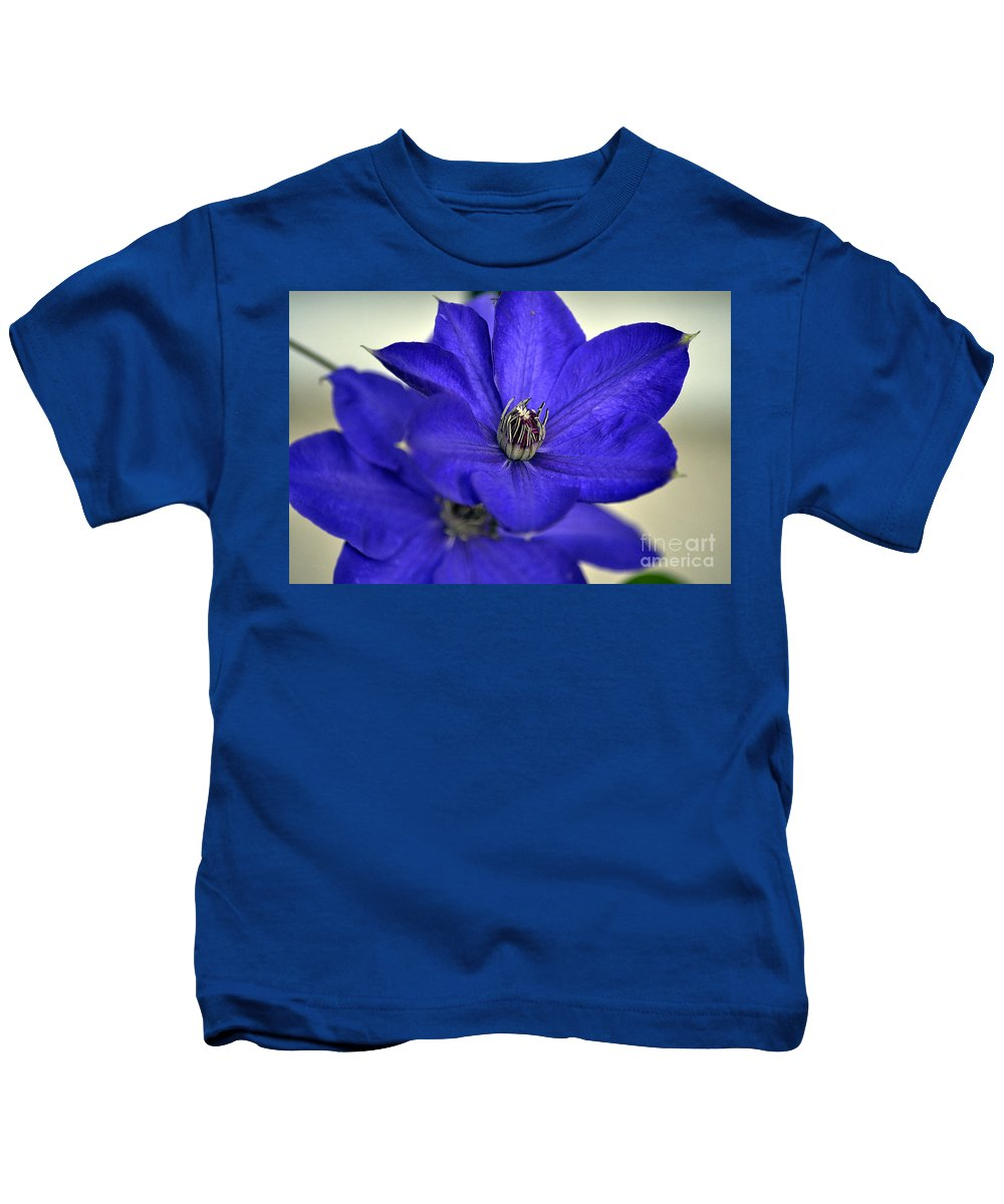 Clay Kids T-Shirt featuring the photograph Sea Of Blue by Clayton Bruster