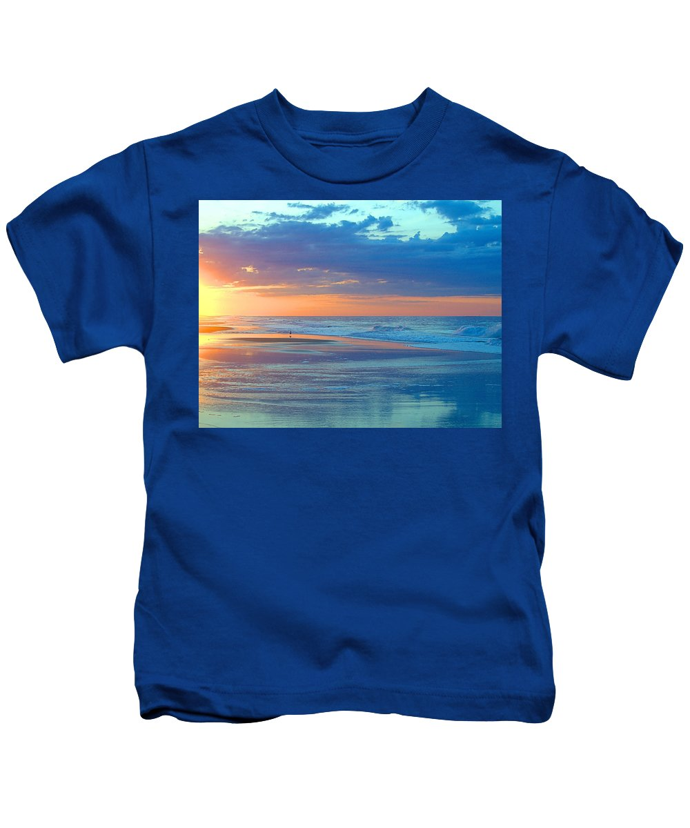 Serenity Kids T-Shirt featuring the photograph Serenity by Newwwman