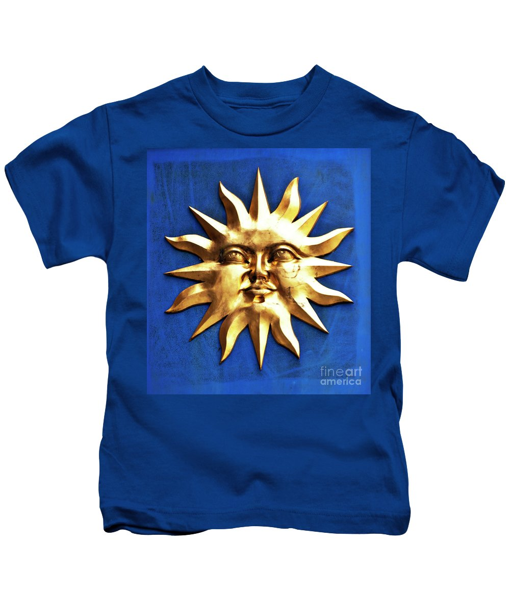 Sun Kids T-Shirt featuring the photograph Smiling Sunshine by Meirion Matthias
