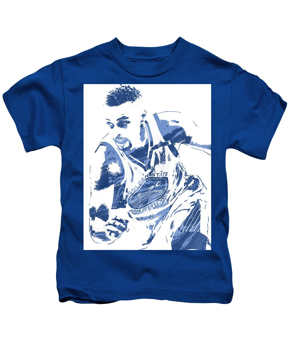 wholesale dealer 36fc1 d3374 Stephen Curry Golden State Warriors Pixel Art 8 Kids T-Shirt