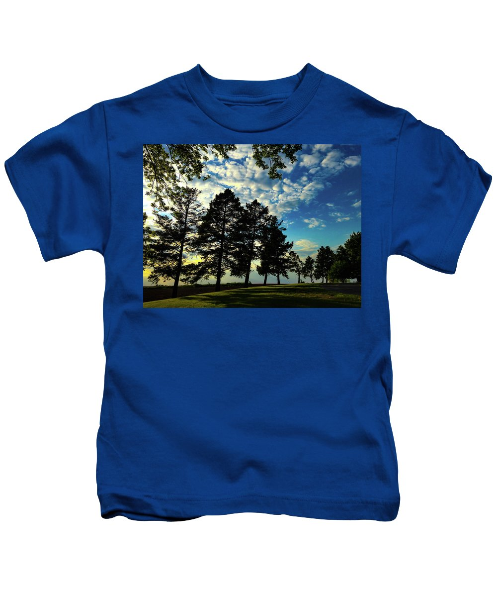 #sun And Shadow Kids T-Shirt featuring the photograph Sun And Shadow By Earl's Photography by Earl Eells a