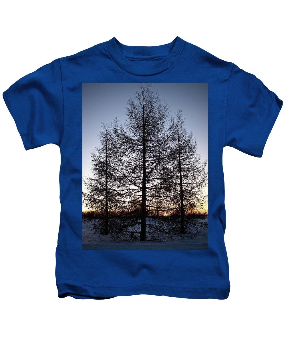 Lehtokukka Kids T-Shirt featuring the photograph Sunset In Kemi by Jouko Lehto
